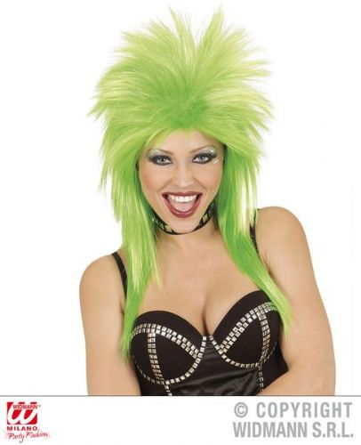 Rock Star Wig (Widmann 01845) - Green